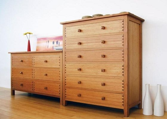 China Large Wooden Modern Living Room Storage Cabinet With Drawers Simple Style supplier