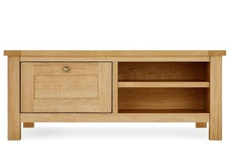 China Natural Wood Living Room TV Stand Mordern Style Strong Structure Eco -  Friendly supplier