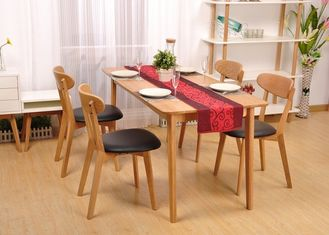 Legacy Classic Kitchen Solid Wood Dining Table Sets Size Customized Environment - Friendly