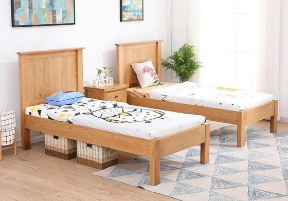 China Comfortable Childrens Solid Wood Bedroom Furniture Sets Single Size Highly Endurable supplier