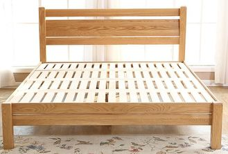 China Family Full Size Solid Wood Bed Frame Strong Structure Comfortable Practical supplier