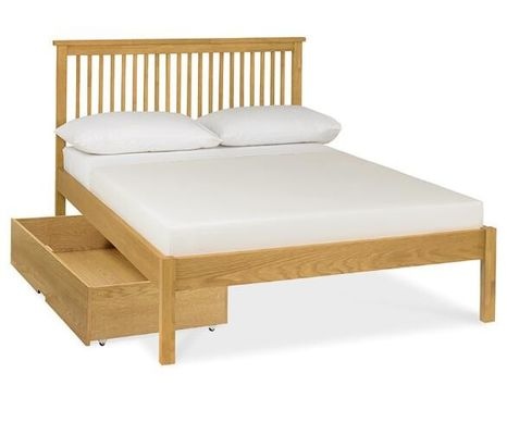 China Commercial Walnut Solid Wood Bed Frame Space - Saving Comfortable Eco -  Friendly supplier
