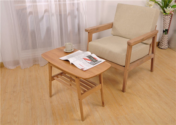 China Department Elegant Small Beech Modern Solid Wood Coffee Table Highly Endurable supplier