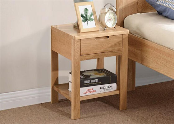 China Economic Mini Bedroom Night Tables , High Grade Narrow Bedside Table Night Stand supplier
