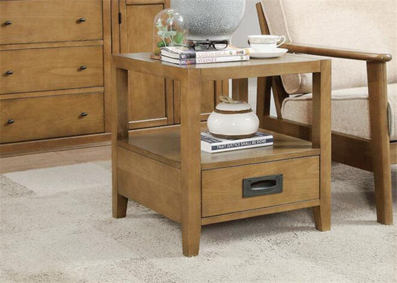 China Solie Beech Birch Wood Bedroom Night Stands Classic Style Small Night Table supplier