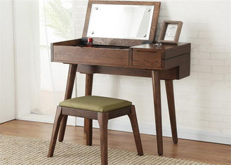 China Students Fashion Small Solid Wood Dressing Table Simple Style Eco -  Friendly supplier