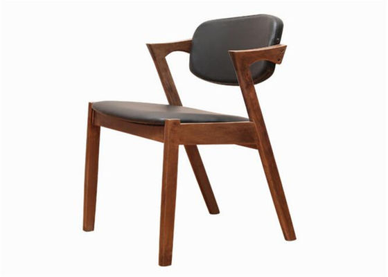 China Hardwood Birchlow Back Dining Chairs , Modern Hotel Wooden Dining Room Chairs supplier