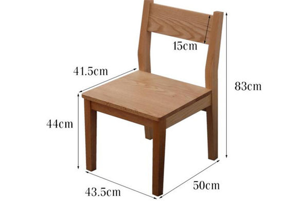 Natural Birch Wood Restaurant Chairs Can Light Oak Dining Room