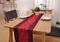 China Restaurant Rectangle Dining Table And 6 Chairs , Canteen Large Dining Room Table factory