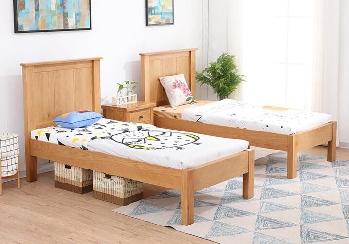 Comfortable Childrens Solid Wood Bedroom Furniture Sets Single Size Highly Endurable