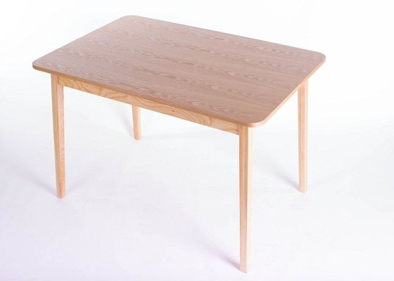Family Small Dining Room Tables Eco - Friendly , Square Narrow Dining Table