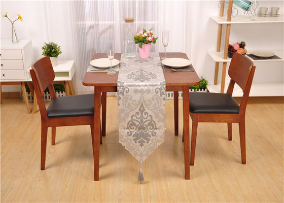 Commercial Dark Oak Wood Hotel Dining Table Color Optional Eco -  Friendly