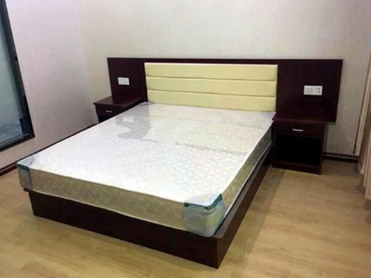 Economic King Size Hotel Bedroom Furniture Sets High Standard Customized