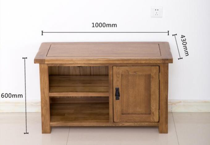 Small Size 32 Inch Pine Living Room TV Stand High Standard Environment - Friendly